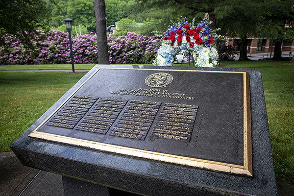 App State commemorates Memorial Day, shares reflections on its Mountaineer military community