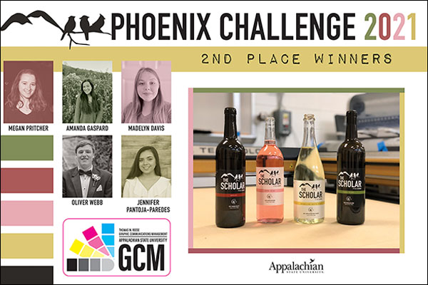App State students design and produce award-winning wine labels — cheers!