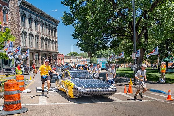 App State's Team Sunergy wins big in US solar racing challenge — No. 1 in Cruiser Class